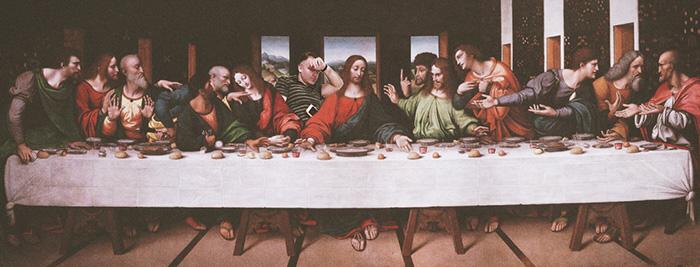 15. И снова «Тайная вечеря».