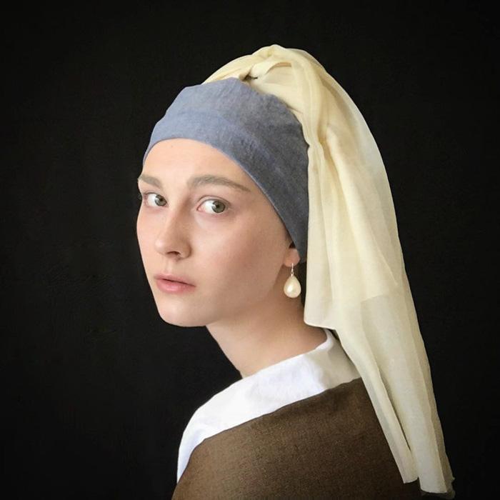 4. Девушка с жемчужной сережкой.