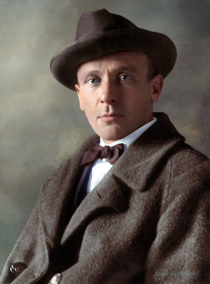 21. Михаил Булгаков, 1928 год.