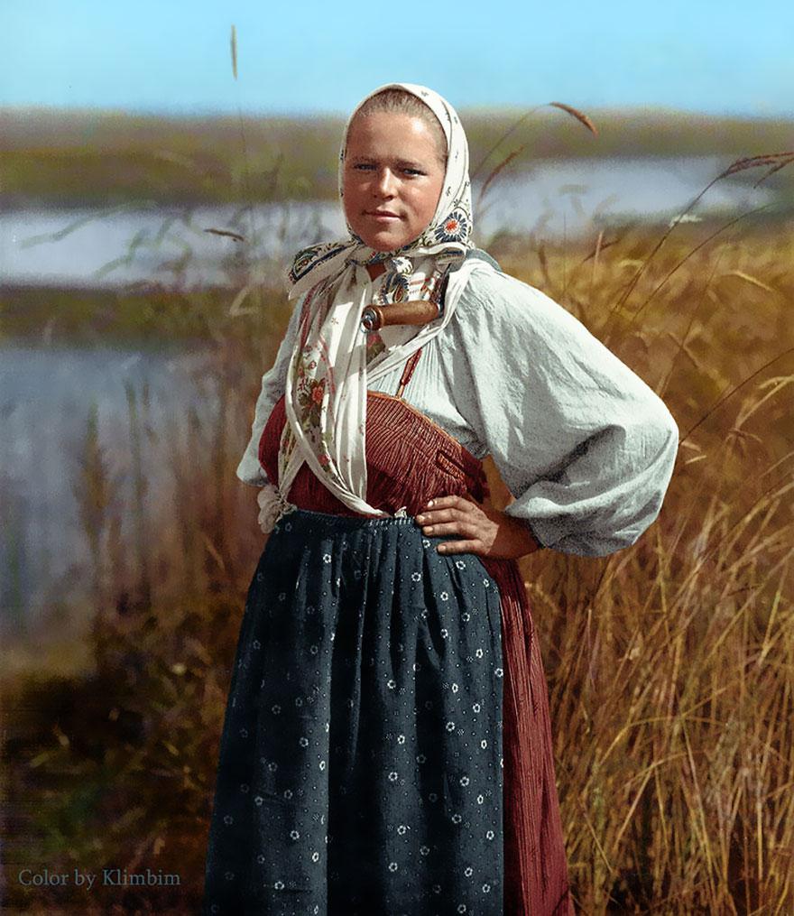 27. Жница, 1914 год.