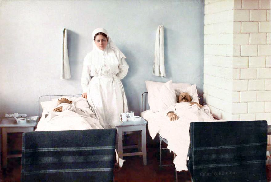 40. Медсестра, 1914-1916 год.