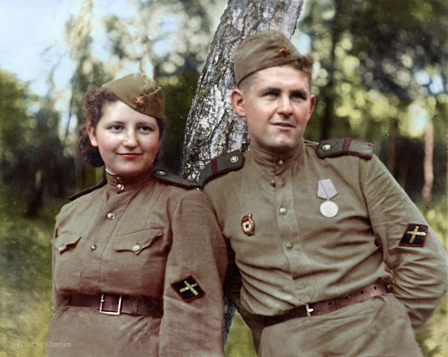 61. Артиллеристы, 1940 год.