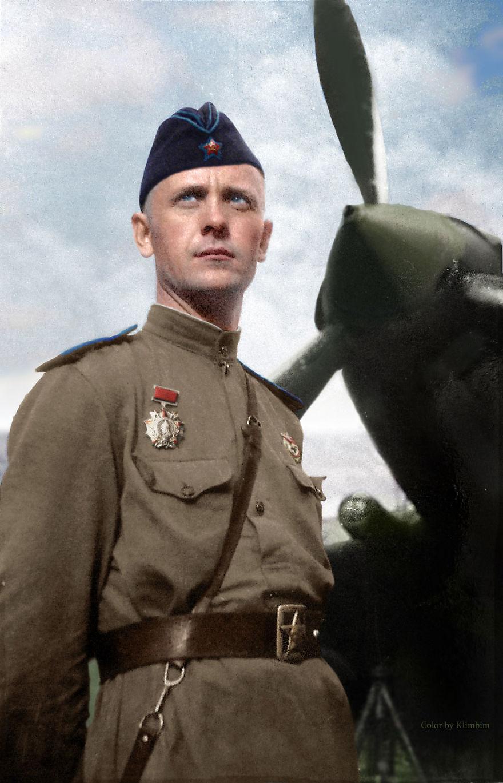 64. Капитан эскадрильи гвардейского штурмового авиаполка Иван Мусиенко.