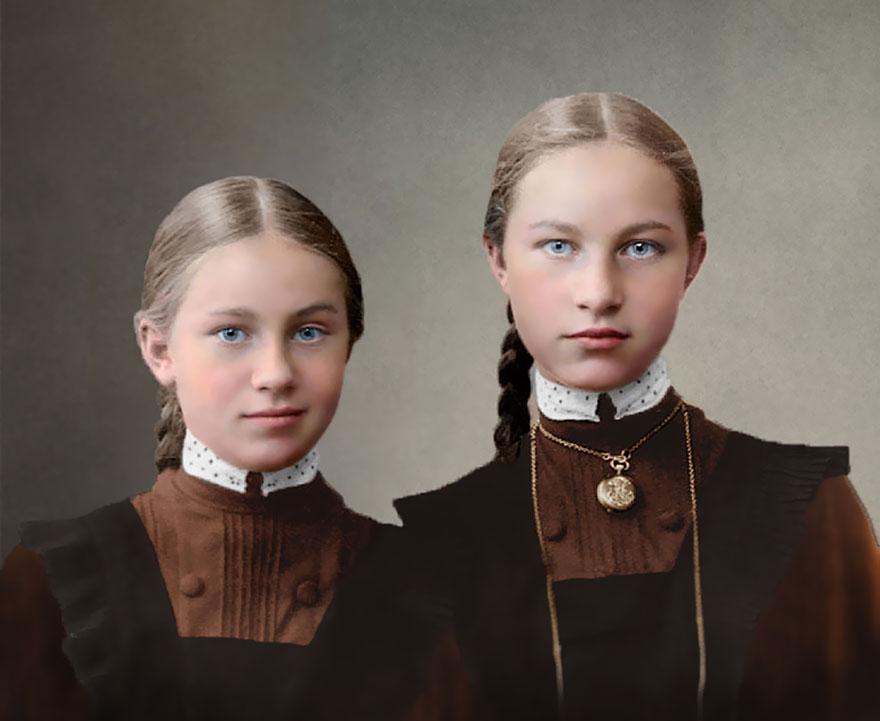 8. Российские гимназистки, 1900-1917 год.