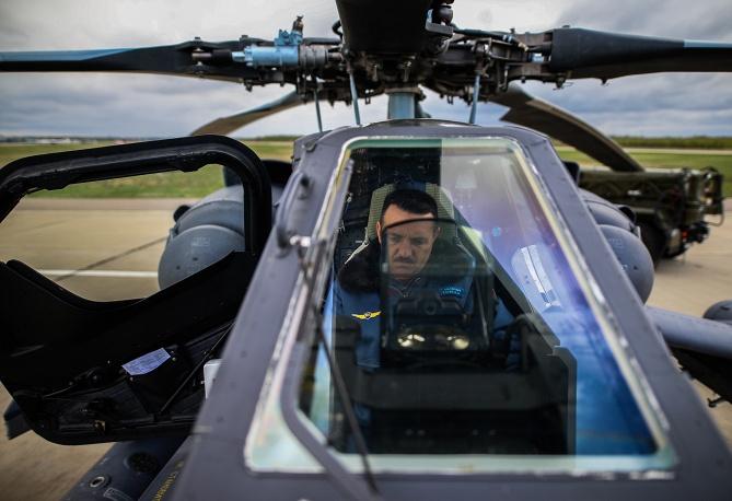 6. Вертолет Ми 28 после полета.