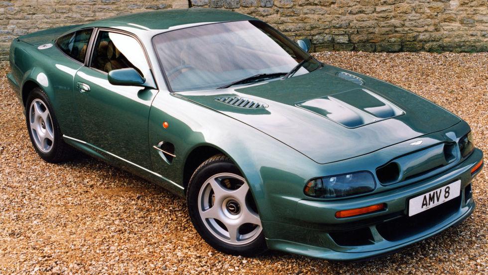 4. Aston Martin V8 Vantage Le Mans.