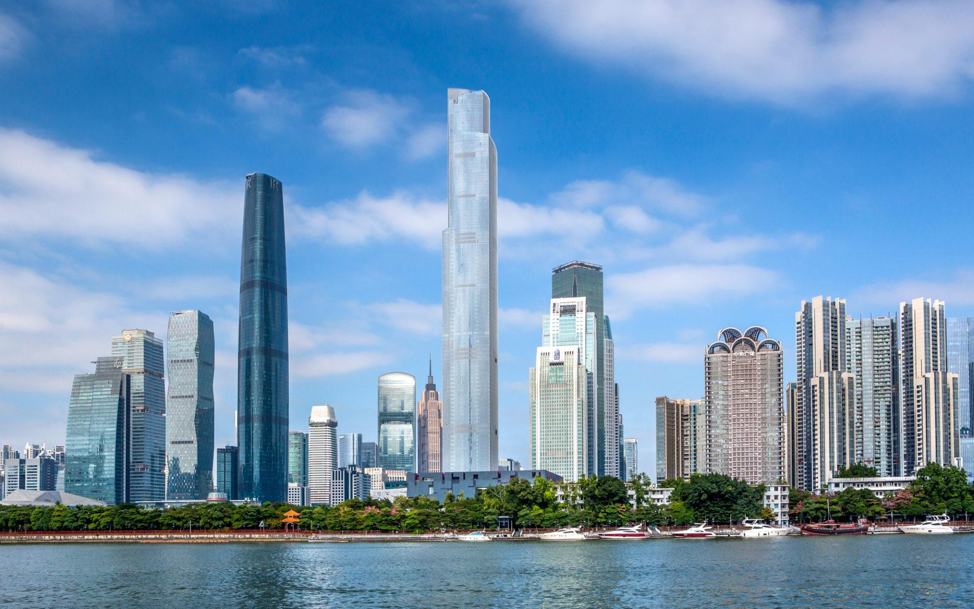 14. CTF Finance Centre (Гуанчжоу, Китай) – 530 метров.