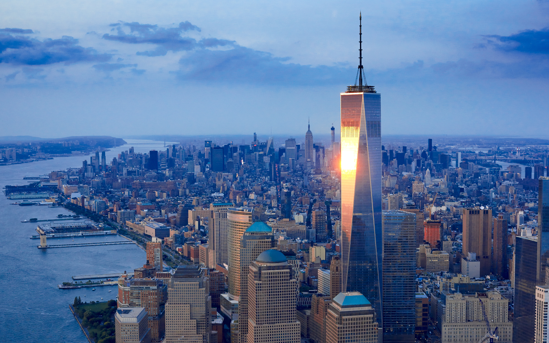 15. Всемирный торговый центр 1 (Нью-Йорк, США) - 541 метр.