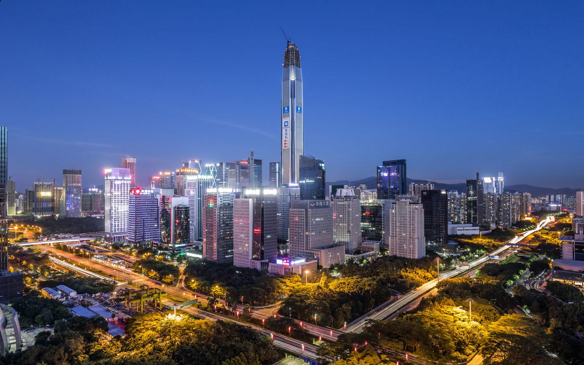 17. Международный финансовый центр Пинань (Шэньчжень, Китай) – 599 метров.
