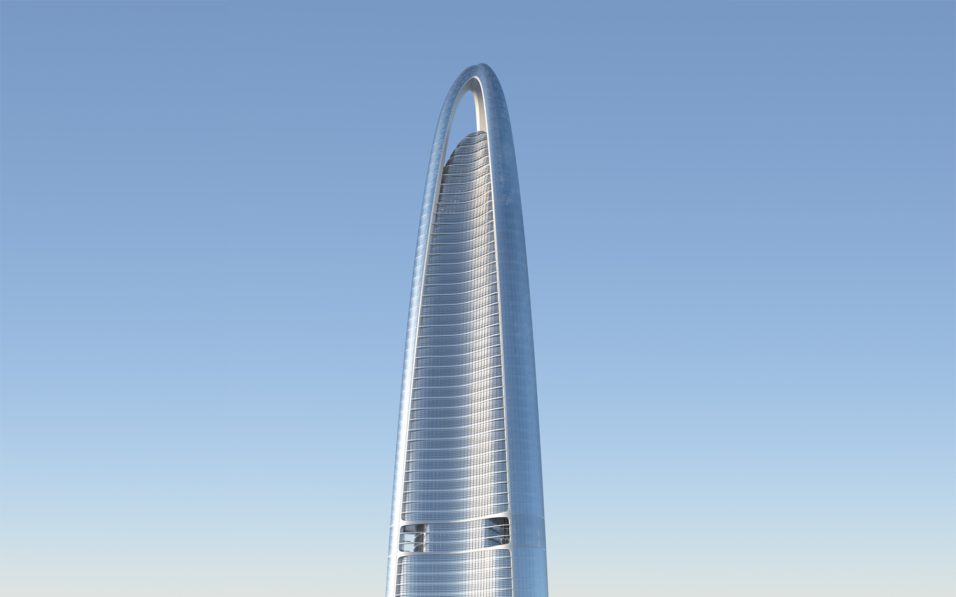 5. Wuhan Center (Ухань, Китай) – 437 метров.