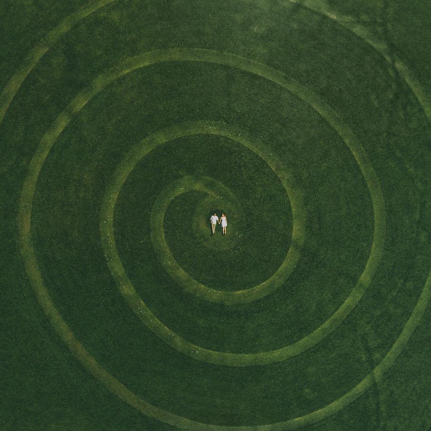3. Спираль любви.