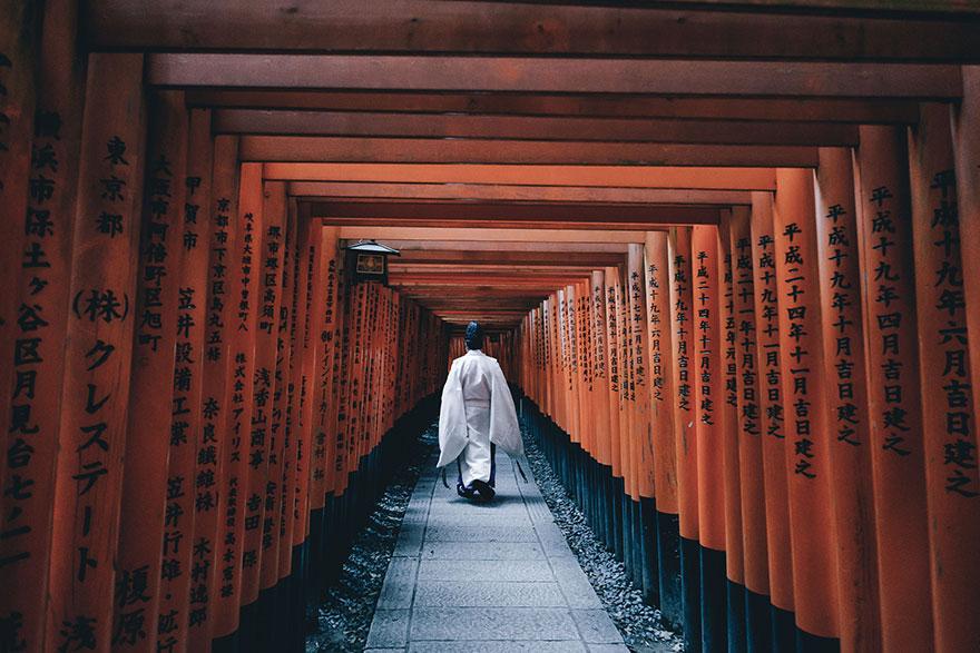 6. Храм Фусими Инари-тайша.
