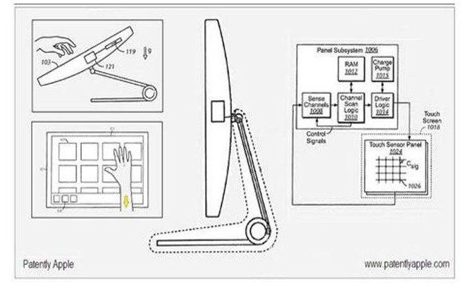 6. Самая старая идея и наиболее вероятная к воплощению – сенсорный экран iMac.