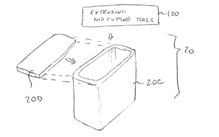 8. Еще одна, вполне осуществимая идея – полностью стеклянный iPhone. Как ни странно, такой iPhone будет более надежным и более легким.