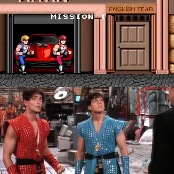 7. Марк Дакаскос и Скотт Вольф - Double Dragon.
