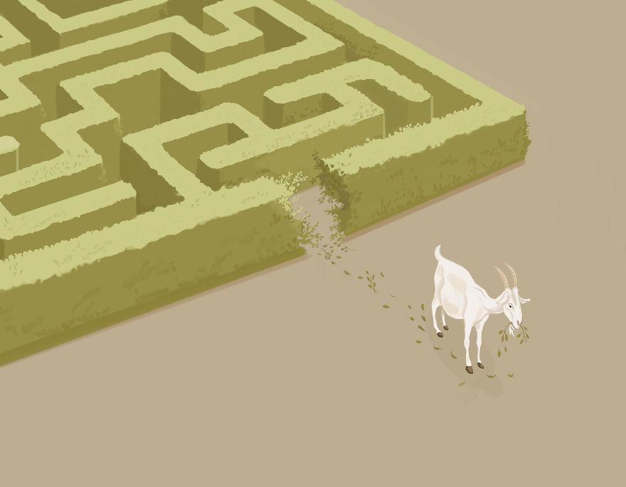 2. Решение проблем с помощью инстинктов, а не логики.