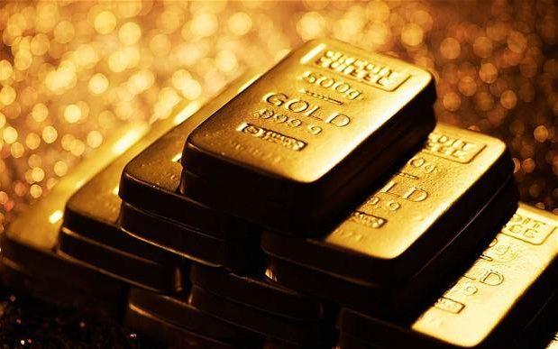 4. Золото: 40,3 $ за грамм.
