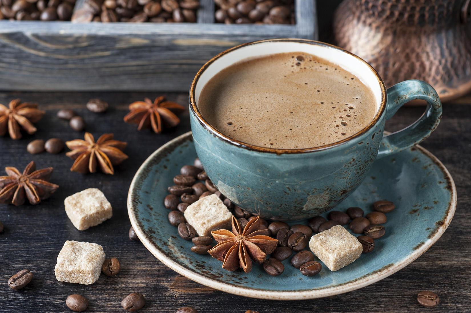 6. Кофе.