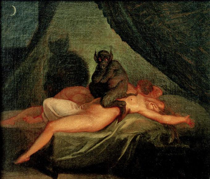 3. Сонный паралич.