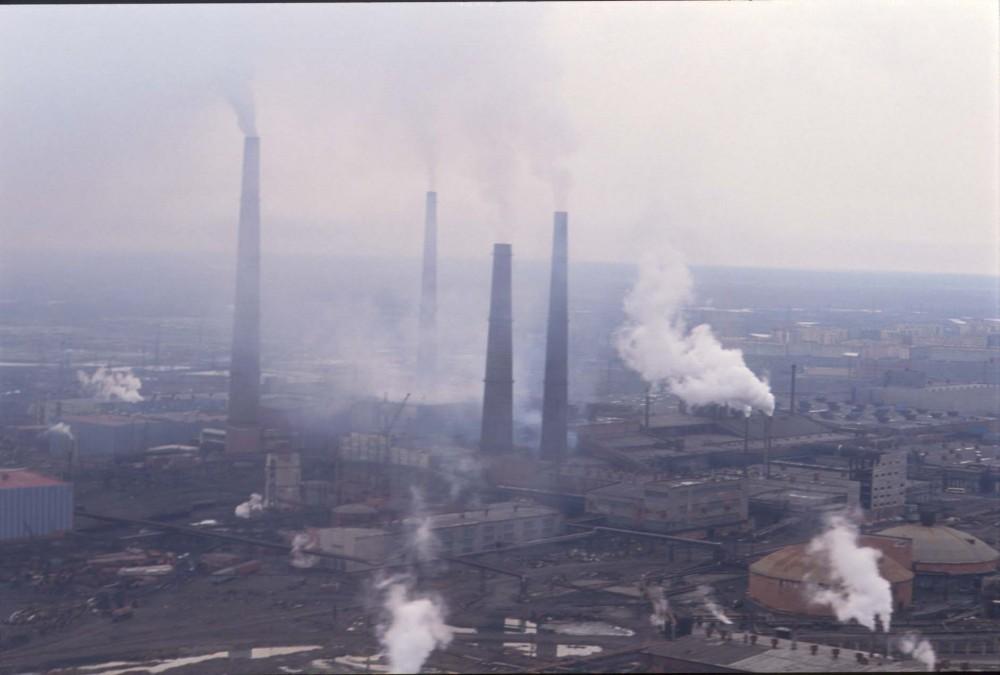 2. Норильск, Россия – горная металлургия.