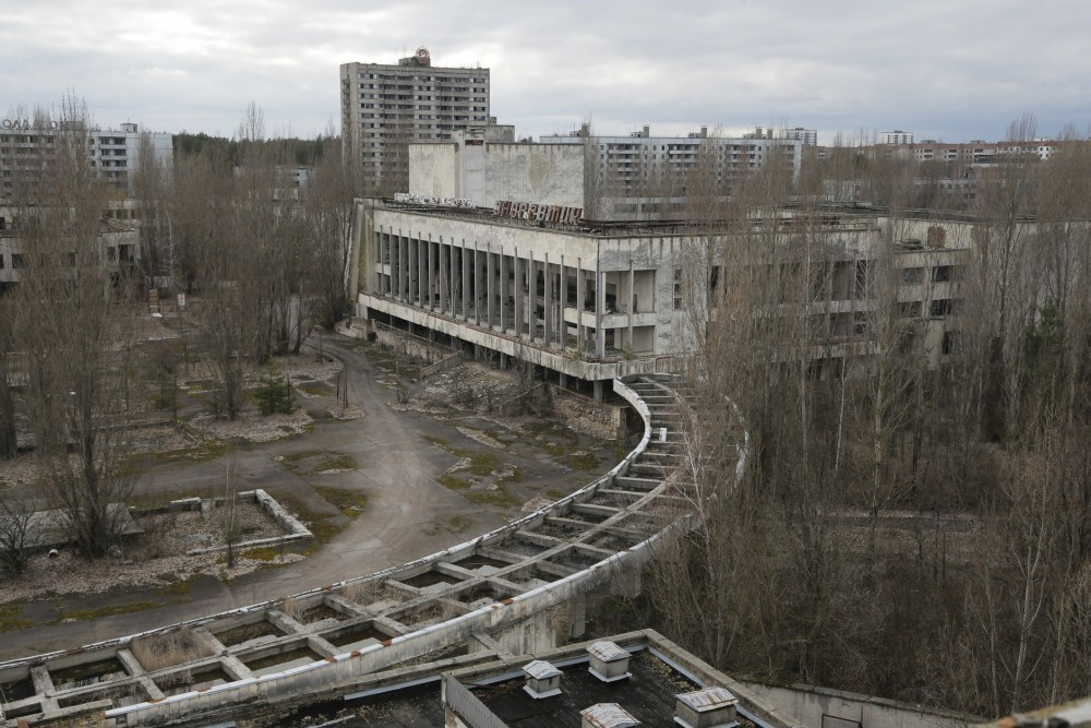 8. Чернобыль, Украина – радиационная авария.