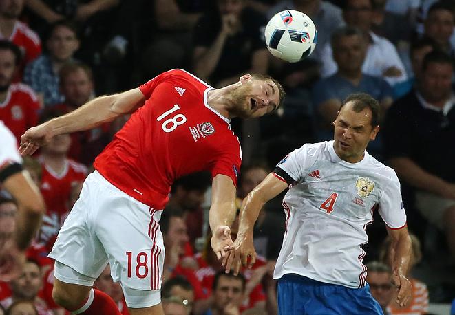 9. Российская сборная играла очень разрознено. Замены в составе не принесли никаких результатов.