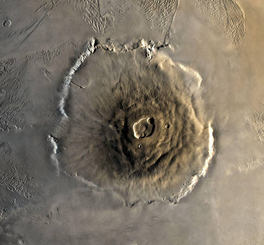 4. Покорить гору Олимп на Марсе.