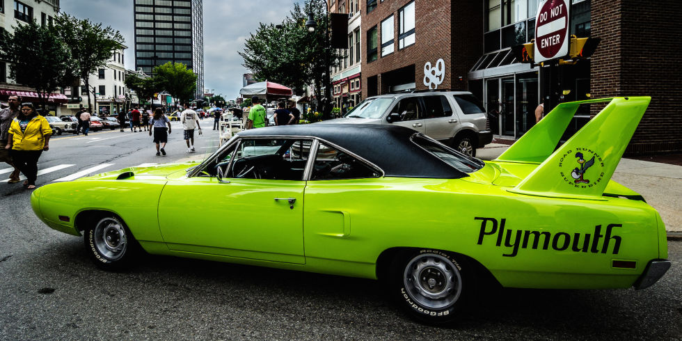 3. Plymouth Superbird/Dodge Daytona, 1970 года.