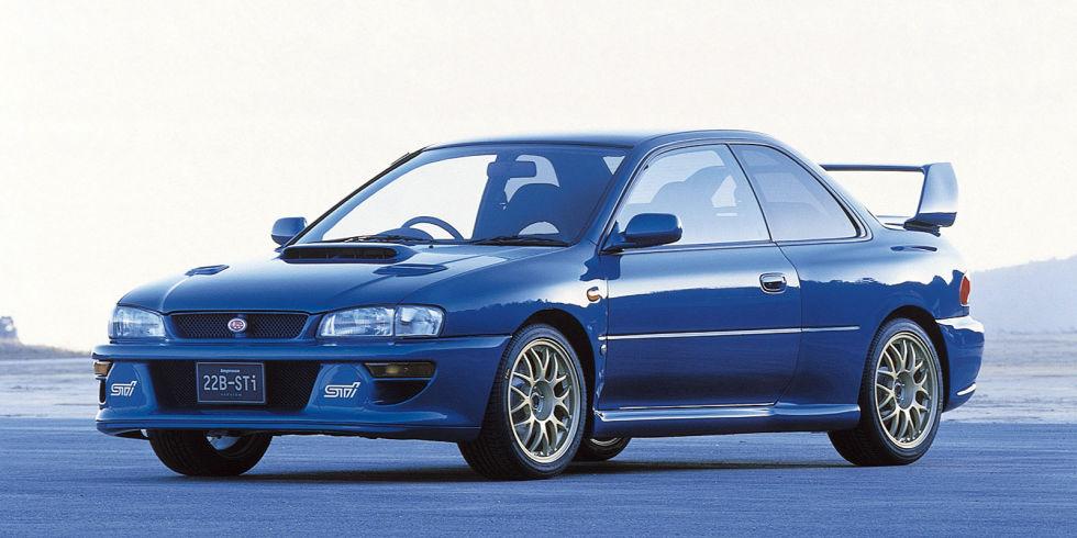 7. Subaru Impreza22B-STi, 1998 года.