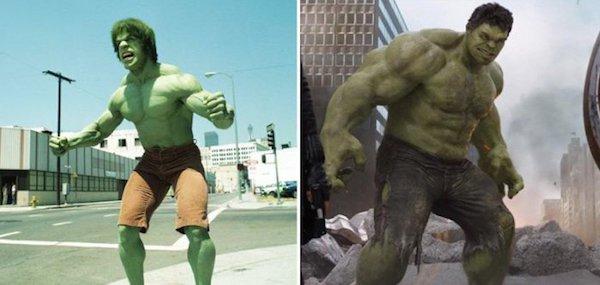 2. Халк 1978 и 2012.