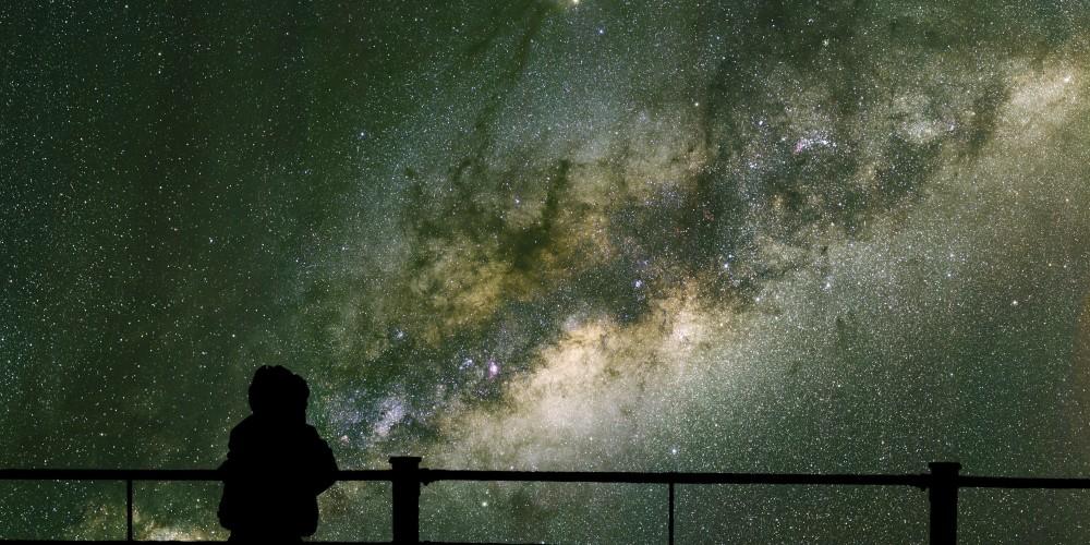 2. Глядя в небо мы видим прошлое.