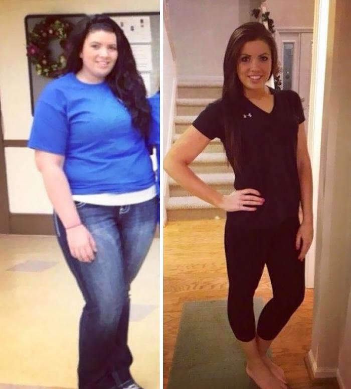 11. Минус 40 килограмм за год, и как результат – отличный внешний вид и хорошее самочувствие.