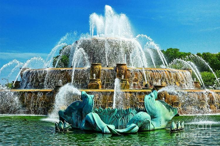 11. Букингемский фонтан.