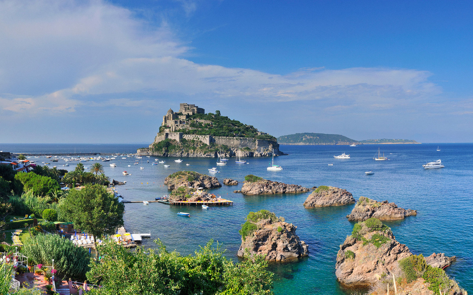 10. Искья, Италия.