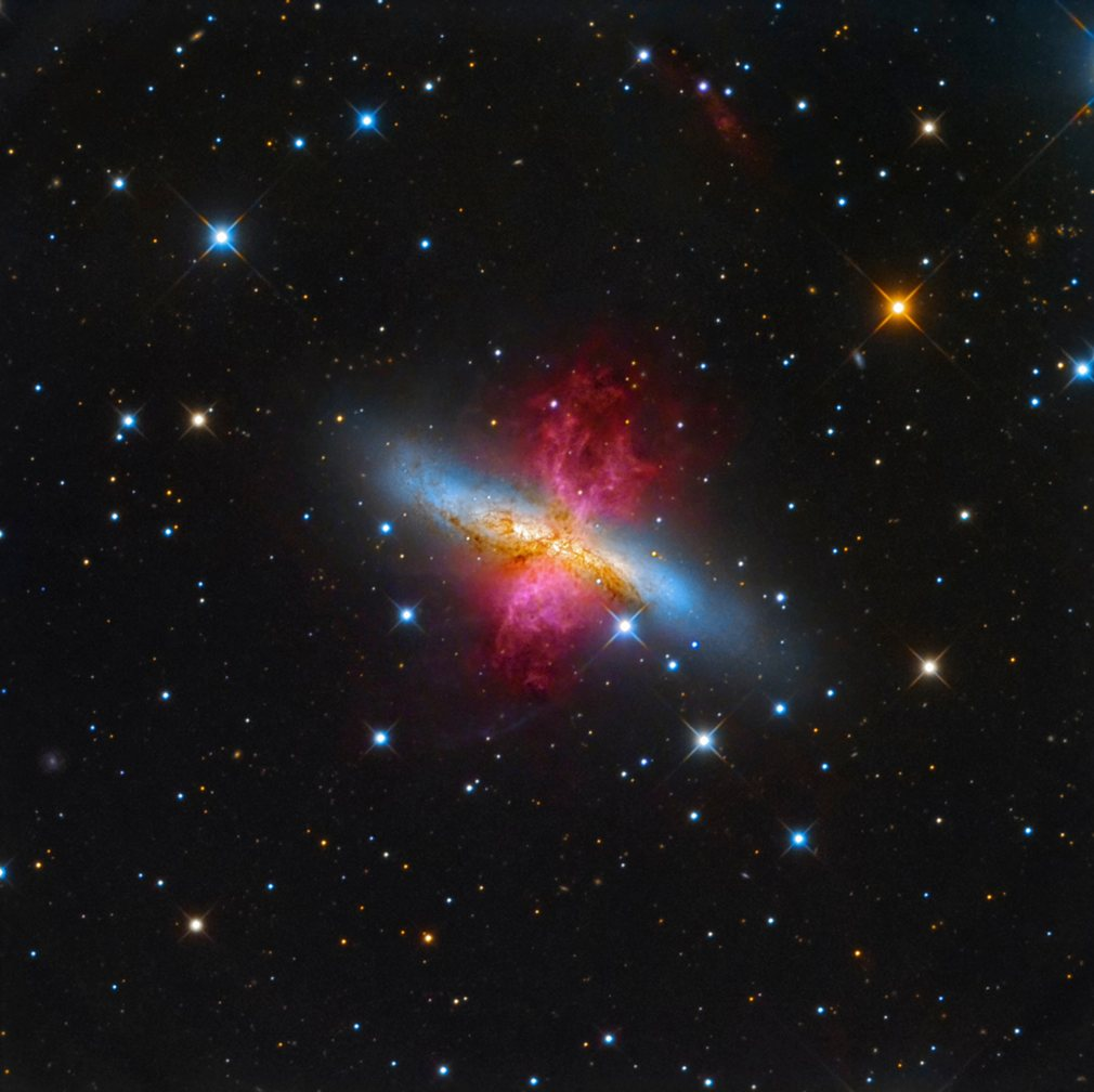 10. Леонардо Орази (Италия) - Галактика Сигара.