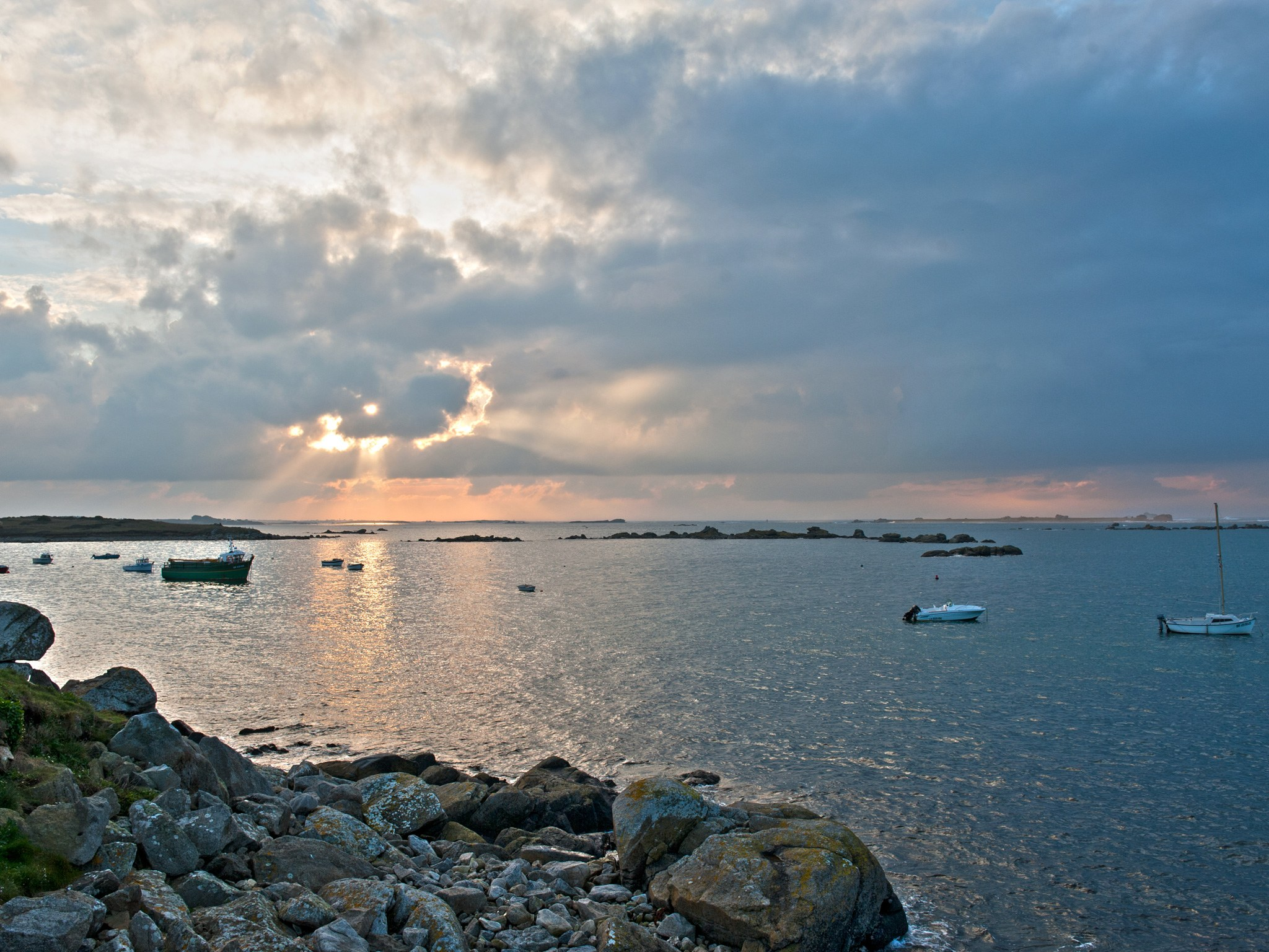4. Пляж на Виргинских островах.