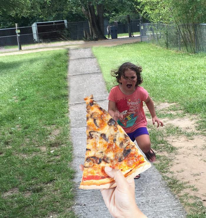 10. Это моя пицца!