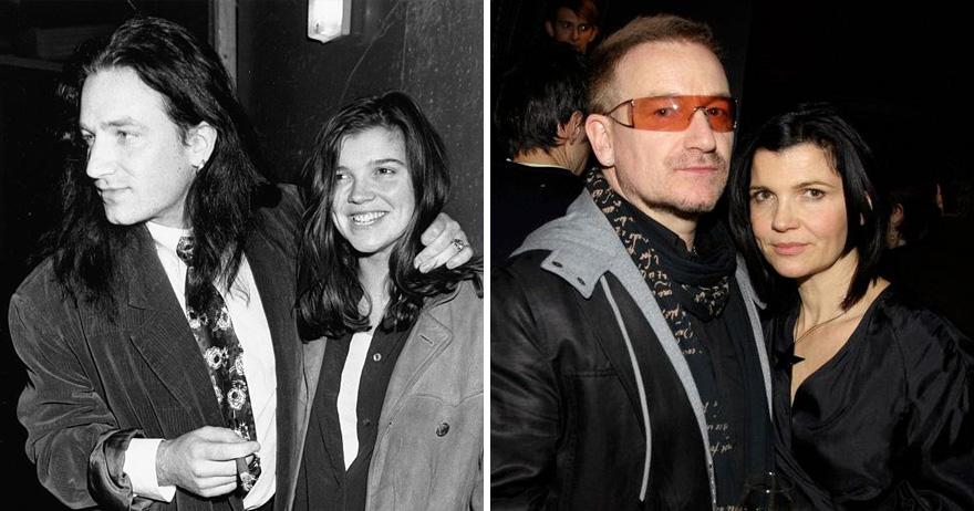 11. Боно и Элисон Хьюсон - 34 года вместе.