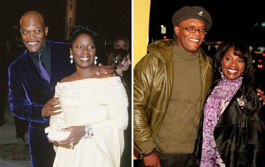 4. Сэмюэл Л. Джексон и Латаня Ричардсон - 36 лет вместе.