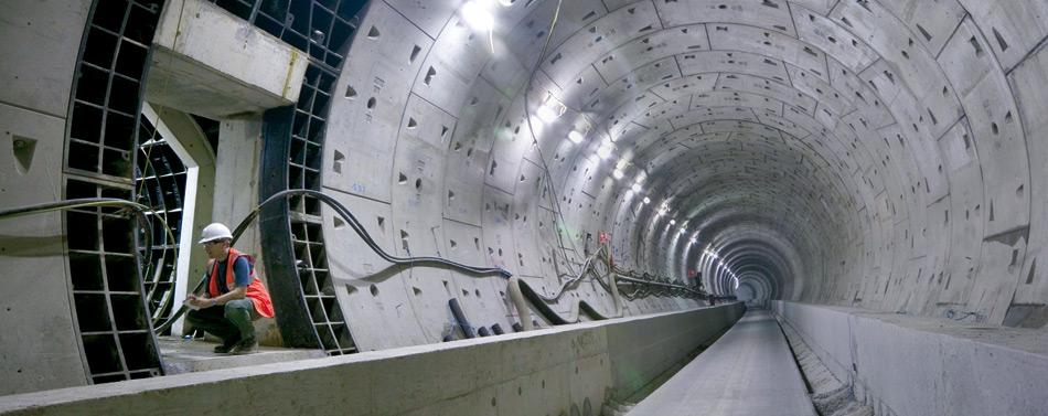 6. Туннель Кроссрейл под Лондоном.