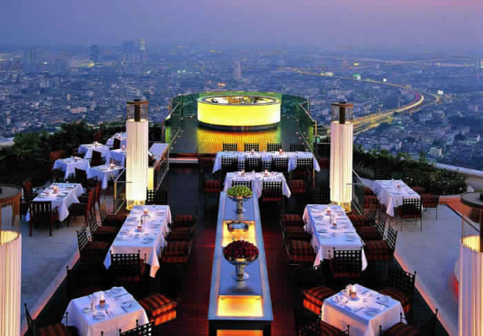 2. Ресторан Siroco, Бангкок, Таиланд.
