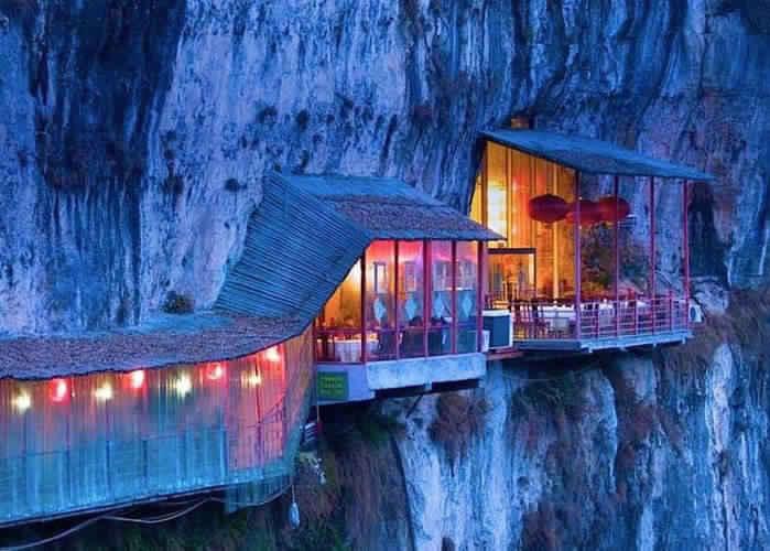 5. Ресторан Fangweng, округ Ичан, Китай.