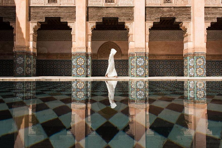 2. Первое место в номинации «Города»: «Медресе Бен Юсефа», Марракеш, Марокко.