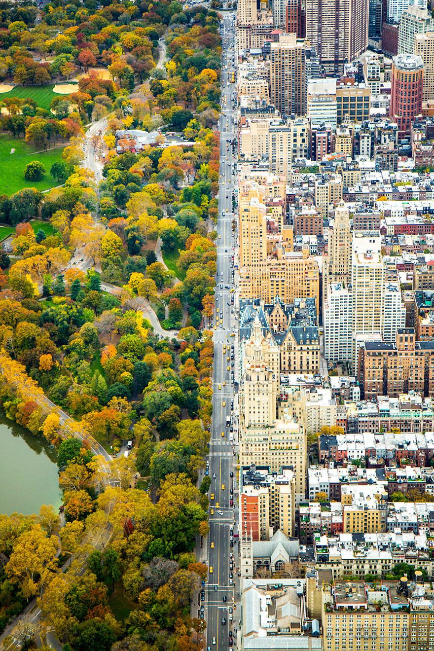 4. Поощрительный приз, номинация «Города»: «Граница», Манхэттен, Нью-Йорк, США.