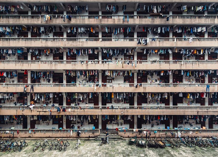 9. Второе место в номинации «Города»: «В тишине», провинция Гуандун, Китай.