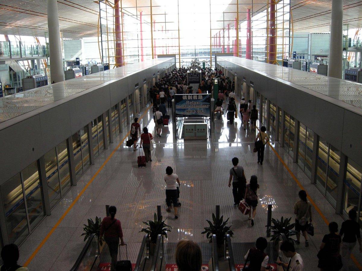 15. Шоуду - крупнейший аэропорт Пекина. Пассажирооборот – 89 938 628 пассажиров.
