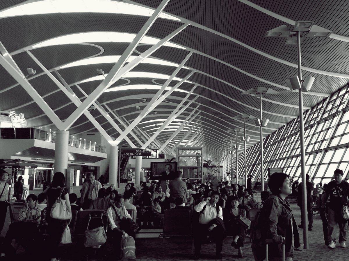 4. Шанхайский аэропорт Пудун. Пассажирооборот – 60 053 387 пассажиров.