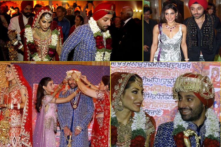 7.  Прия Сачдев и Викрам Чатвал ($ 20 млн). Индийская суперзвезда и индийский миллионер сыграли 10-дневную свадьбу в индийском стиле.