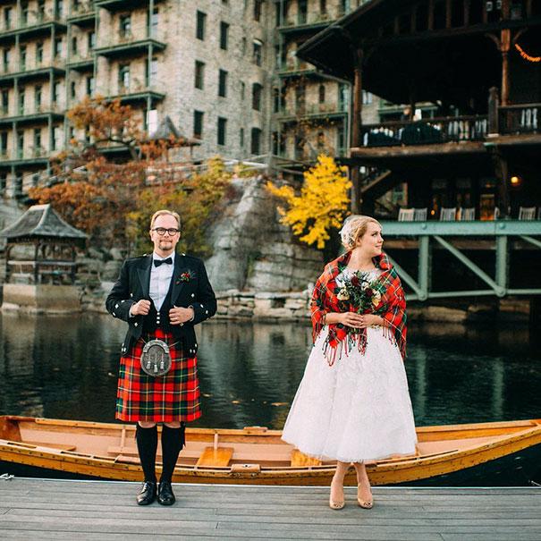 7. Свадьба в Шотландии.