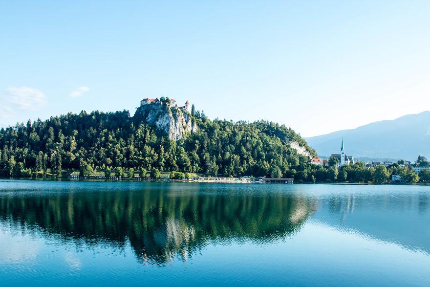 4. Замок Блед, Словения.